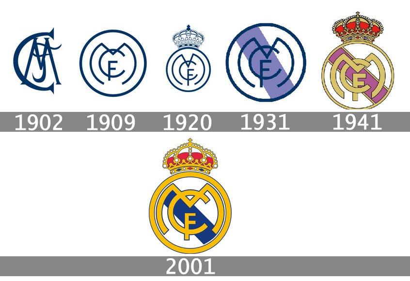 Real Madrid logo - Agence 1min30 - Agence web 1min30 ...