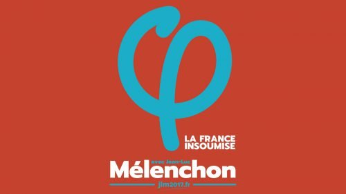 Couleur logo Mélenchon