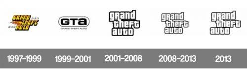 Histoire logo GTA