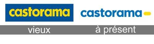 Histoire logo Castorama