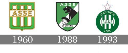 Histoire logo Saint- Étienne
