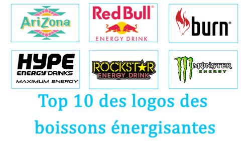 Top 10 des logos des boissons énergisantes