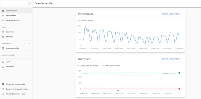 Search Console de Google : des nouveautés et une version complète horizon 2019