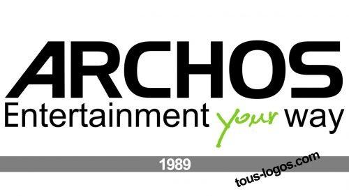 Archos logo histoire