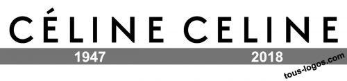 Histoire logo Céline