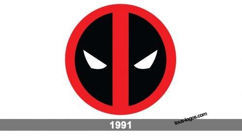 Histoire logo Deadpool