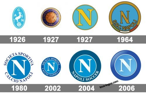 Histoire logo Napoli