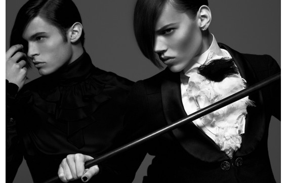 Karl Lagerfeld - Vogue 2019 (Allemagne)
