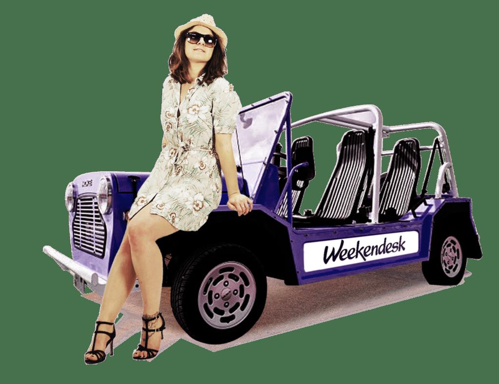 Wendy égérie proposée à Weekendesk