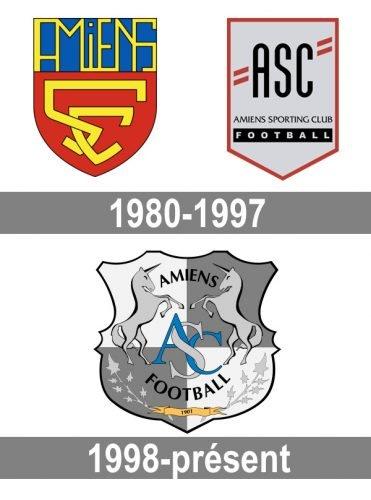 Histoire logo Amiens
