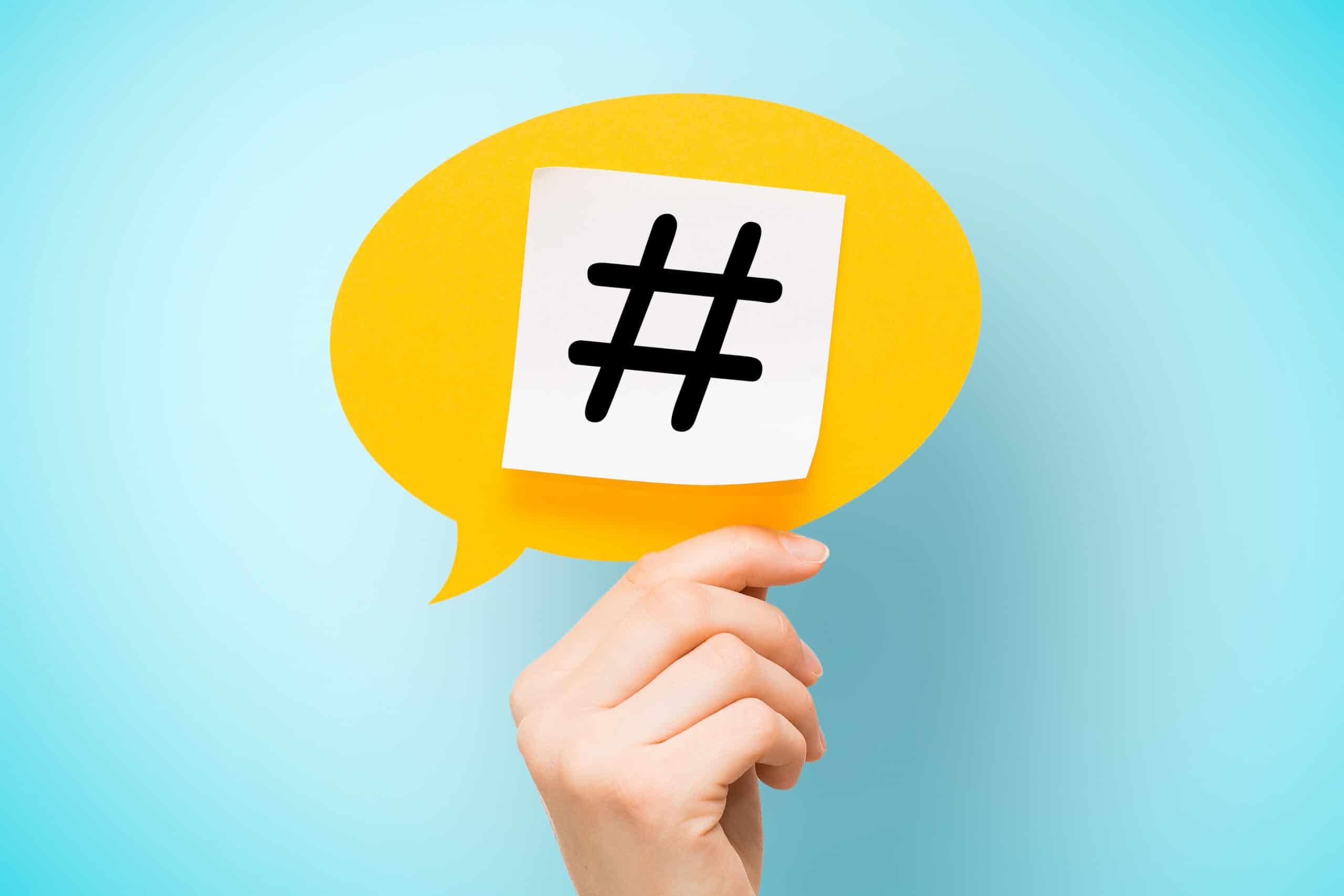 L'art du hashtag : comment passer maître dans son utilisation