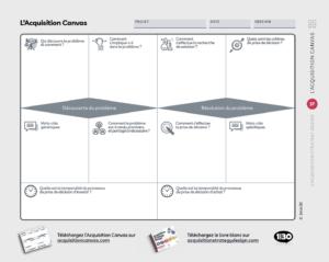 Canvas d'acquisition : atelier /formation avec l'acquisition de strategy design