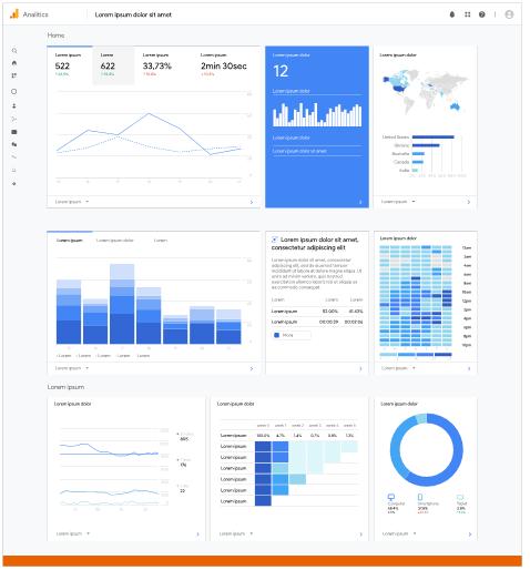 Schéma Google Analytics