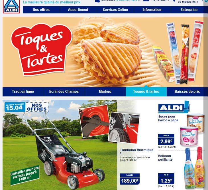 Aldi site low cost