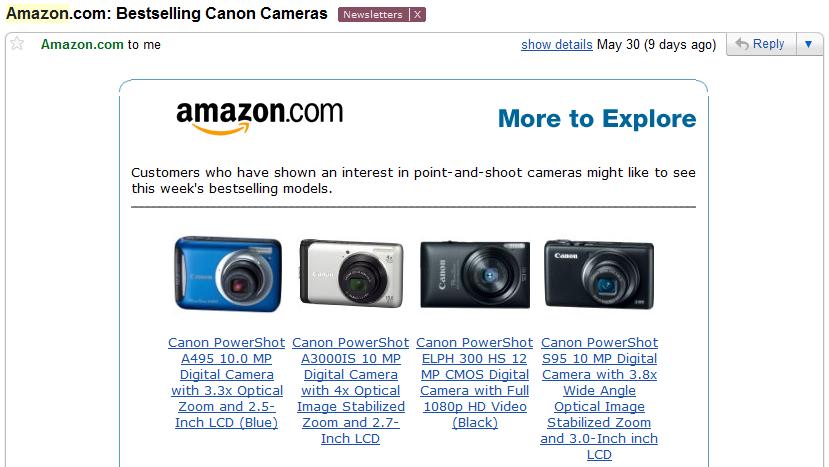Amazon Emailing