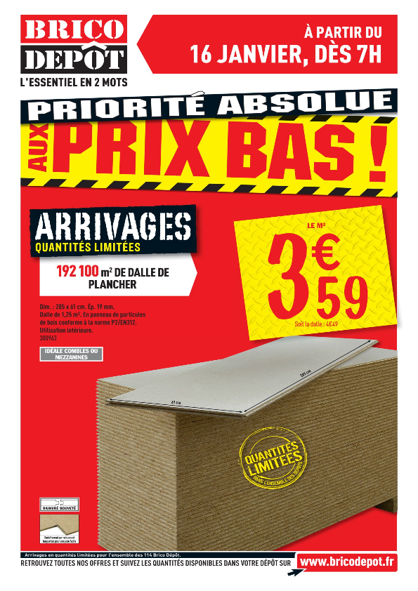Brico Dépot catalogue low cost