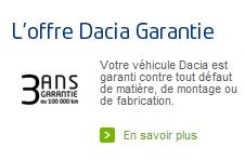 Dacia garantie low cost