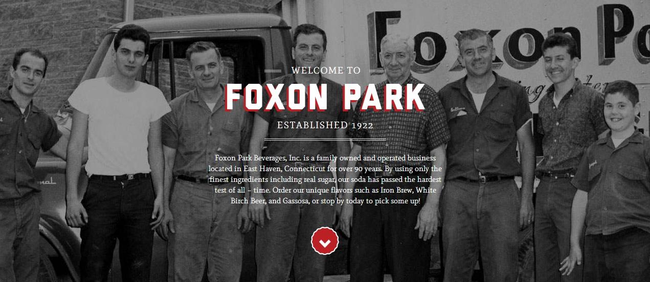 Le site de Foxon Park Beverages