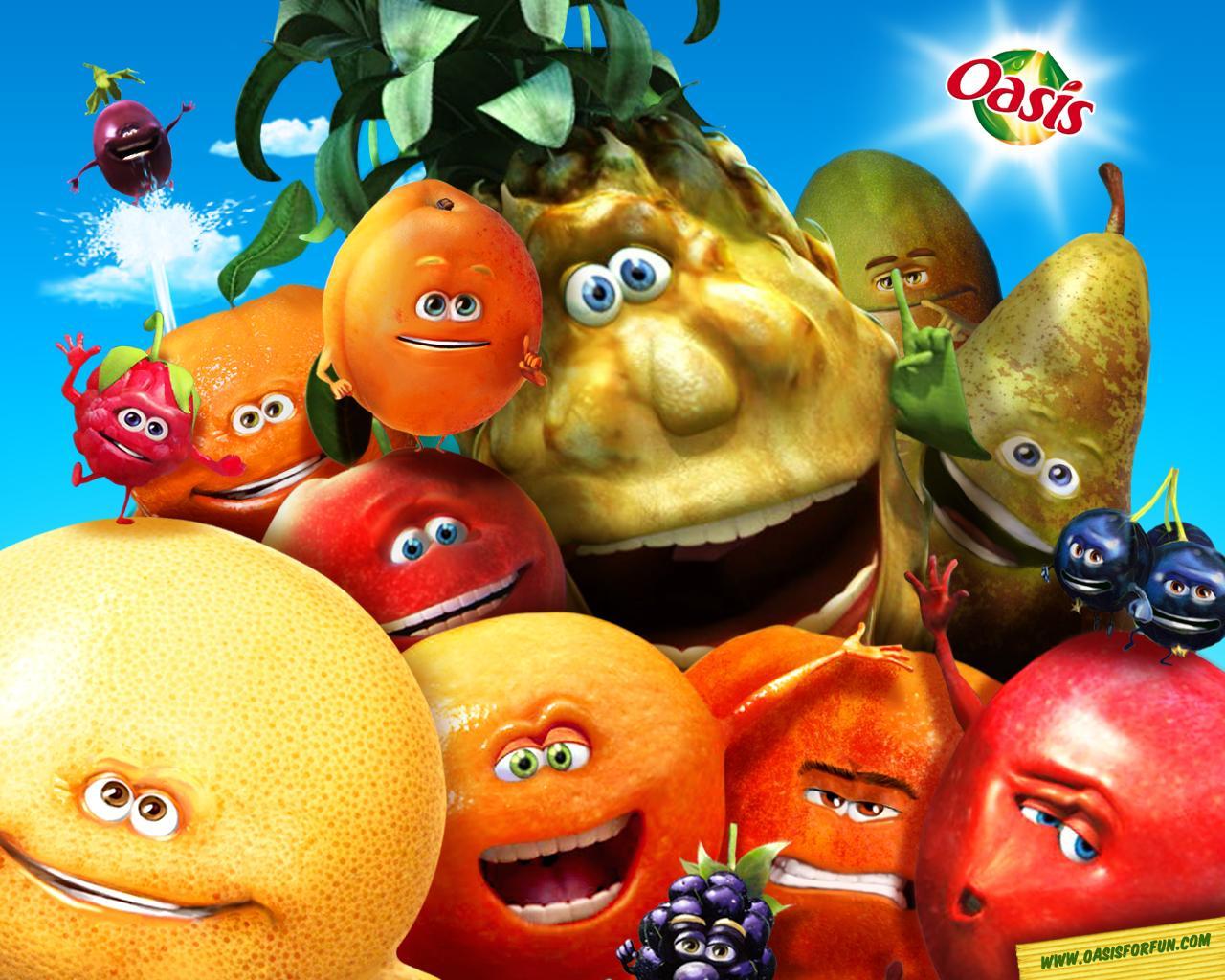 Oasis mascottes