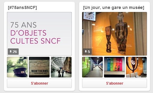 Pinterest SNCF