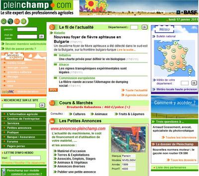 présence en ligne - banques françaises