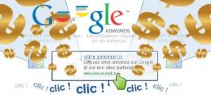 Google Adwords génère des clics