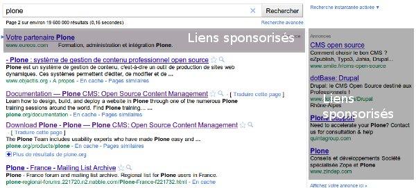 Liens Sponsorisés Google Adwords