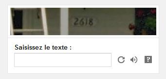 CAPTCHA numérique