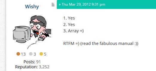 RTFM : la manière douce de l'utiliser