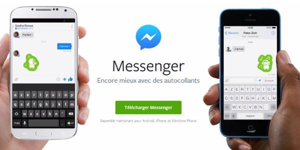 Facebook messenger: une application de messagerie instantannée