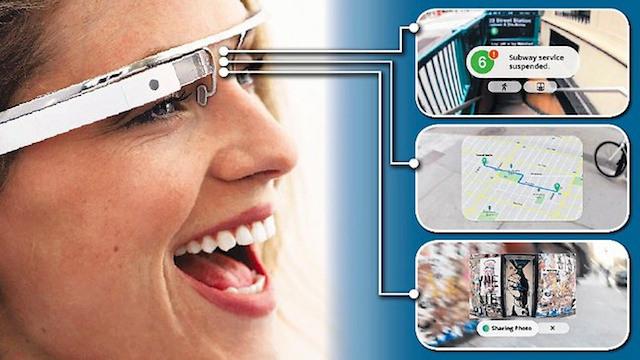 Objet connecté: lunettes Google Glass