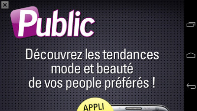 Publicité dans les Applications Mobiles