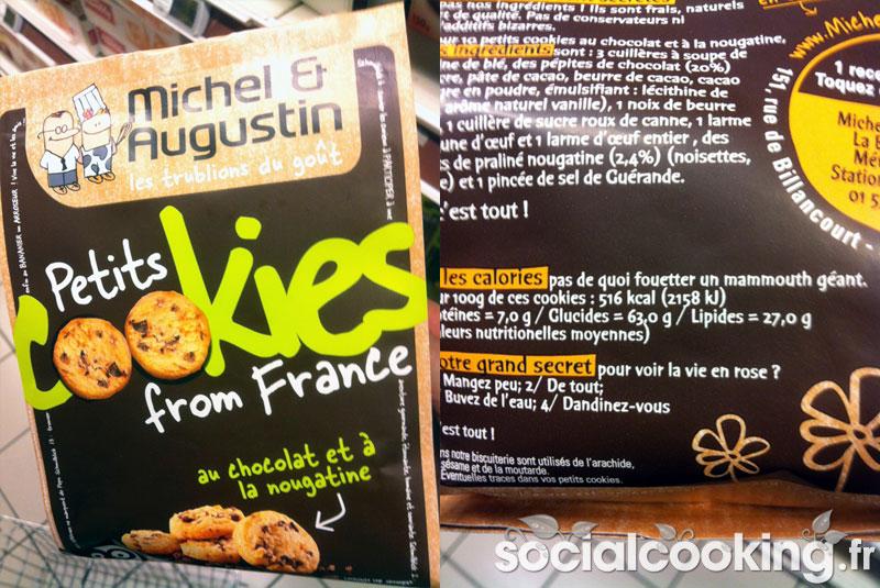 Michel & Augustin packaging