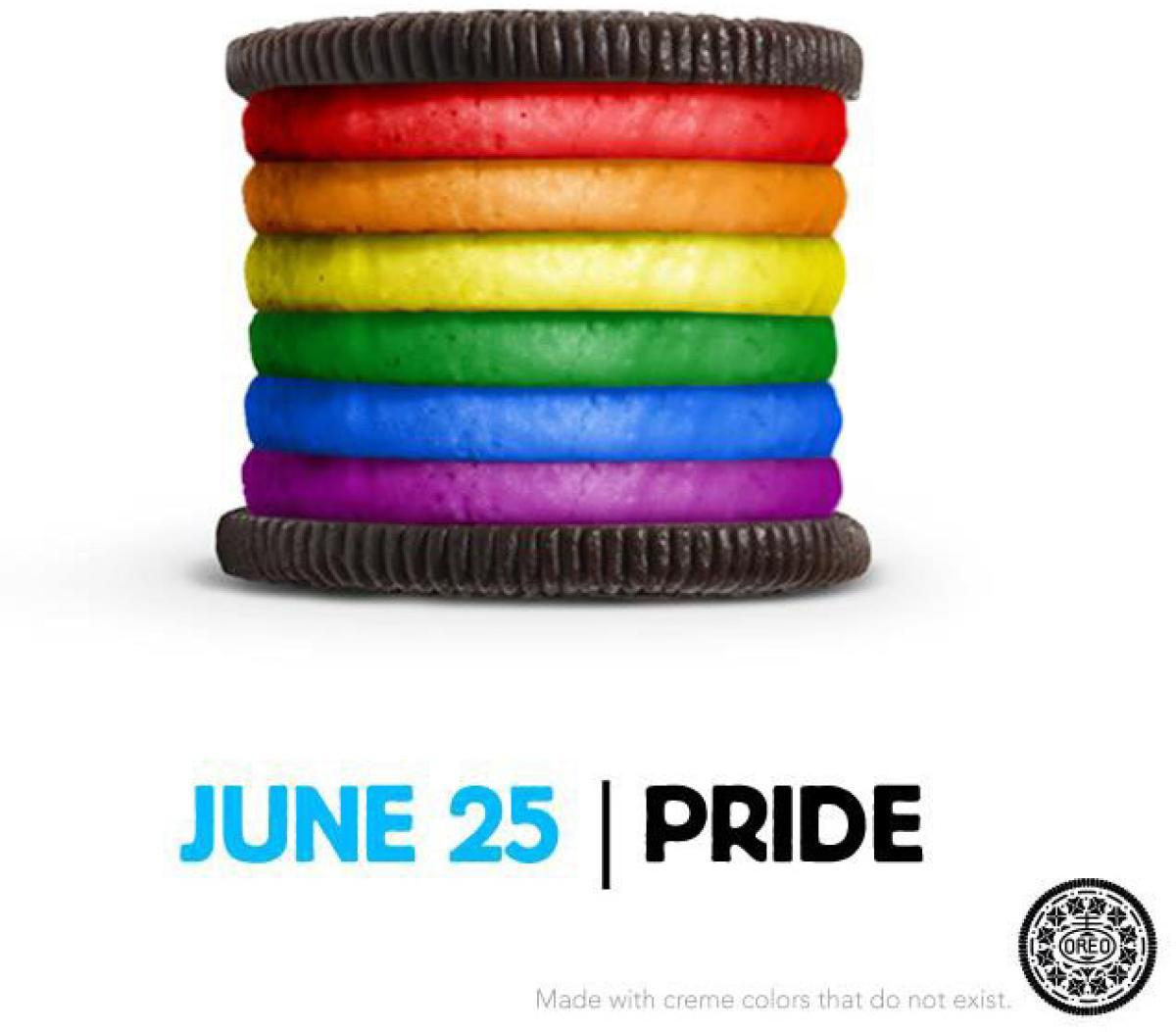 Oreo engagement gaypride