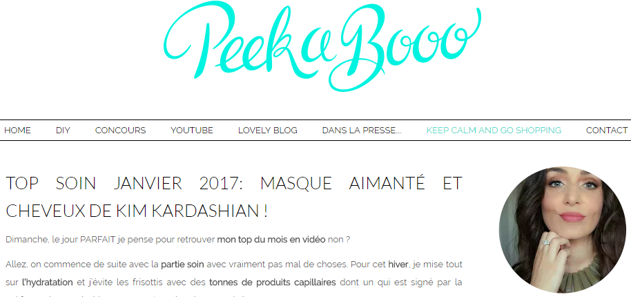 Blog Peekaboo