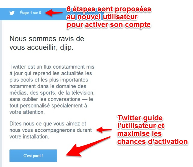 Accompagnement Twitter